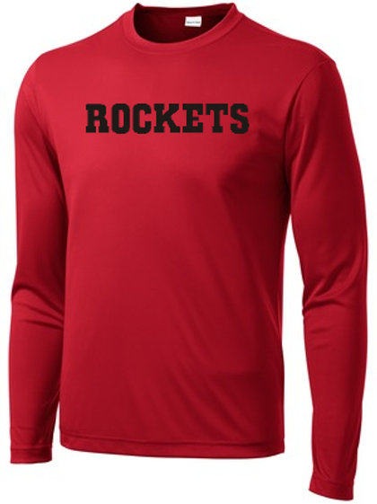 Red Pennant Long Sleeve Reading Soccer