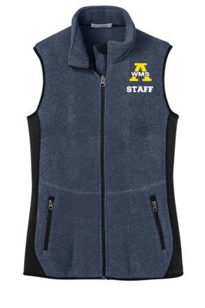 Navy Ladies Port Authority Staff Vest