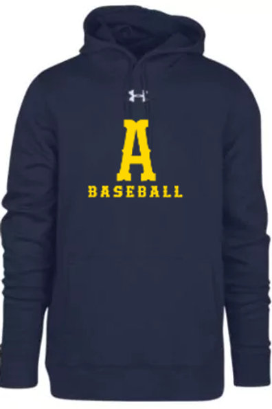 Navy Under Armour Hoodie Andover Baseball