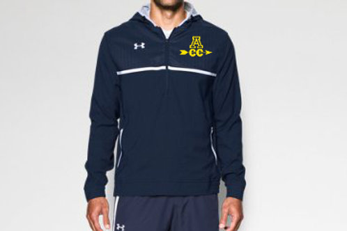 Navy Under Armour Hooded Jacket