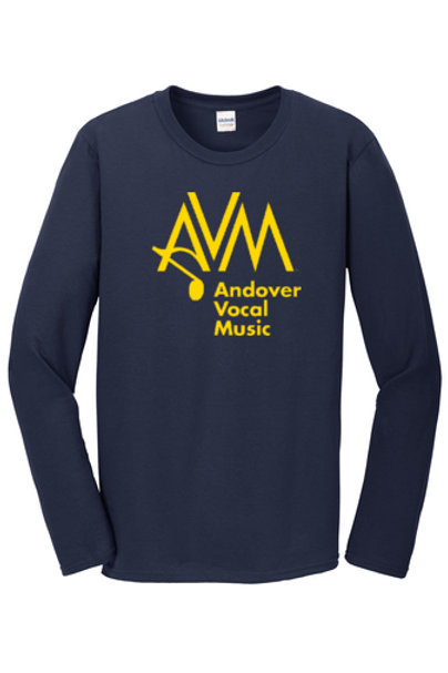 Navy Long Sleeve AVM