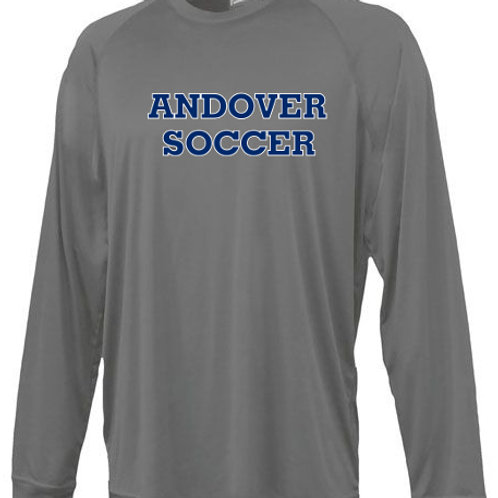 Graphite Pennant Long Sleeve AHS Girls Soccer