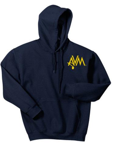 Navy Pullover Hoody AVM