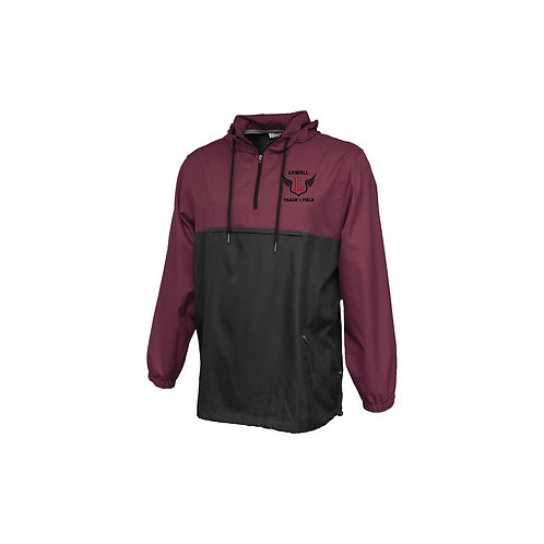 Pennant Maroon/Black Windbreaker Lowell Track