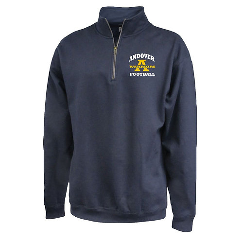 Navy Pennant Football 1/4 Zip AJFL