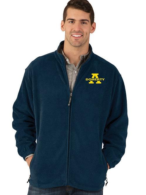 Men's Navy Voyager Fleece Jacket