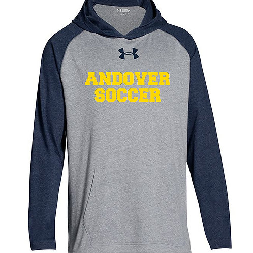 Freshman Navy/Gray UA Hoody AHS Boys Soccer