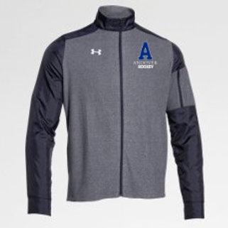 Navy UA Full Zip Jacket PA Hockey