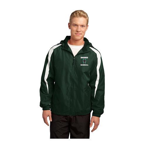 Forest Green Sport Tek Jacket Brooks Baseball