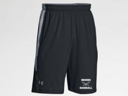 UA Team Raid Color Block Shorts Brooks Baseball