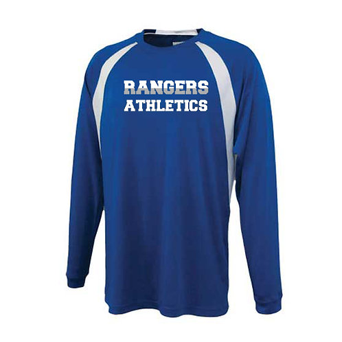 Blue/White Royal Pennant Playoff Long Sleeve