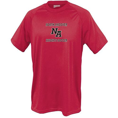 Red Performance Short Sleeve NA Boys Soccer
