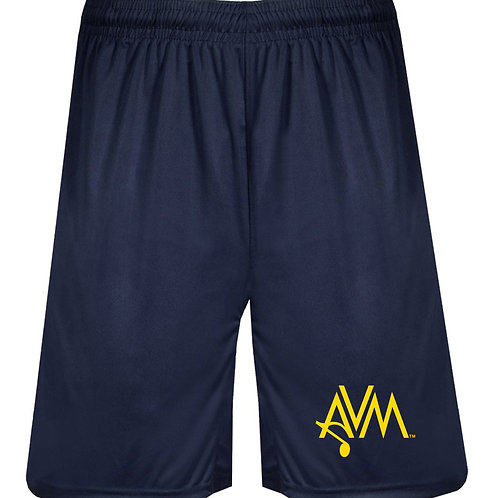 Navy performance shorts AVM