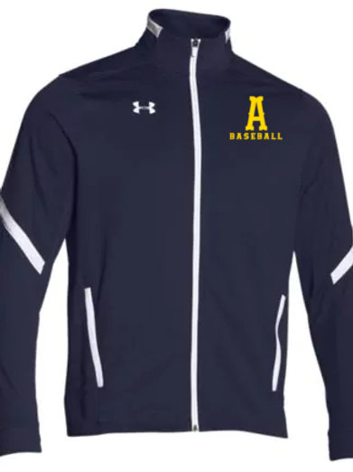 Navy Under Armour Warmup Jacket Andover Baseball