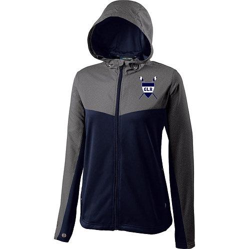 Women's Grey/Navy Holloway Crossover Jacket