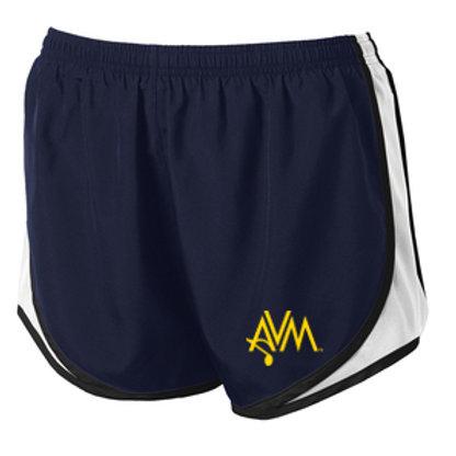 Navy Ladies Shorts AVM