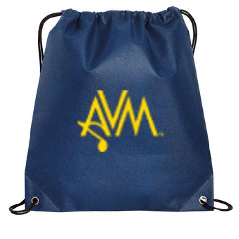Navy Cinch Bag AVM