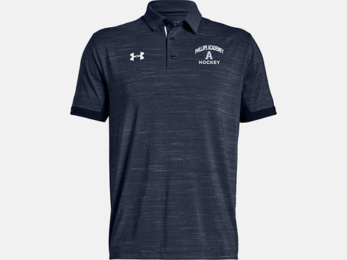 Navy Under Amour Elevated Polo PA Hockey