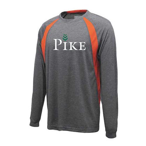 Orange/Grey Pennant Youth Pre-Game Long Sleeve
