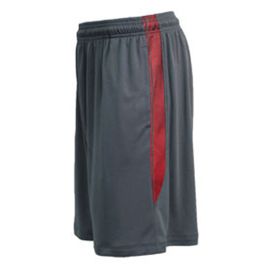 Red/Grey Pennant Blade Shorts