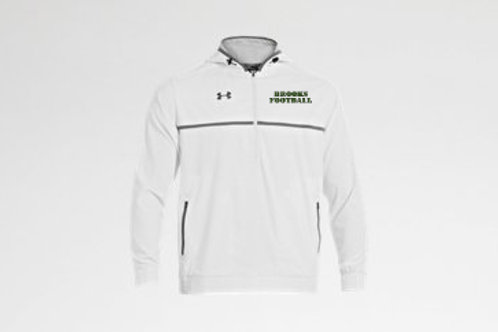 White Under Armour hooded jacket