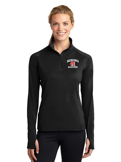 Black Sport-Tek 1/4 Zip Reading Soccer