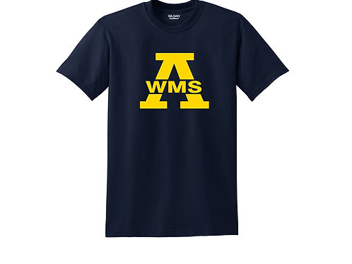 Navy Short Sleeve Tee West Middle