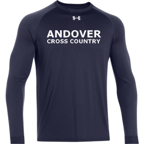 Navy Performance Long Sleeve (without name)