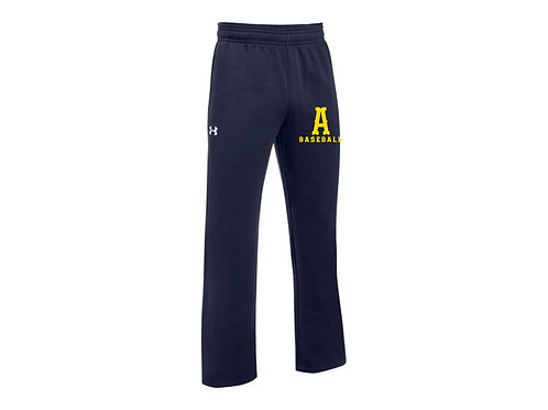 Navy Under Armour Fleece Sweatpants Andover Baseball