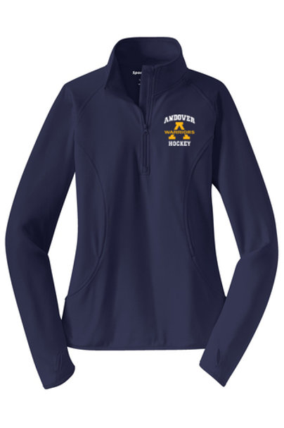 Navy Sport Tek 1/4 Zip AHS Hockey