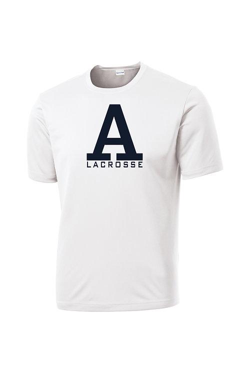 White Sport-Tek Shooting Shirt Andover Lax