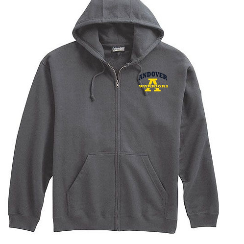 Navy or Gray full zip Hoodie AHS