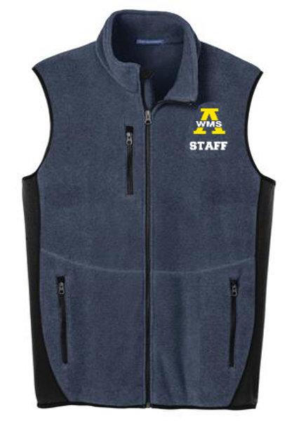 Navy Port Authority Staff Vest