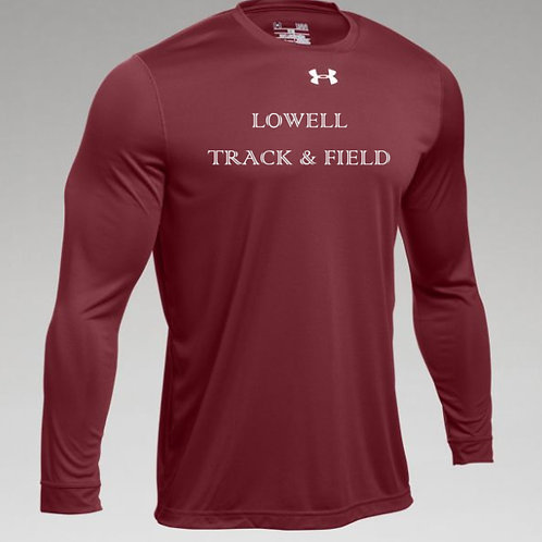 Short and Long Sleeve Cardinal Tee State Lowell Track