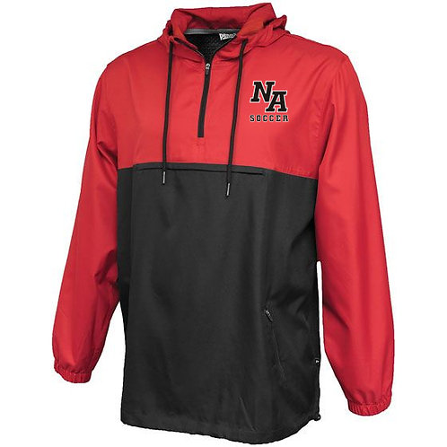 Varsity Red/Black Pennant Jacket NA Girls Soccer