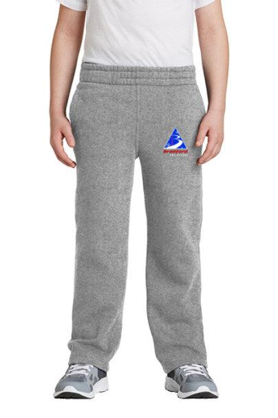 Youth Grey Sweatpants Bradford Ski
