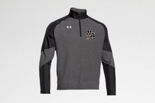 Gray Under Armour 1/4 Zip NA Boys Soccer