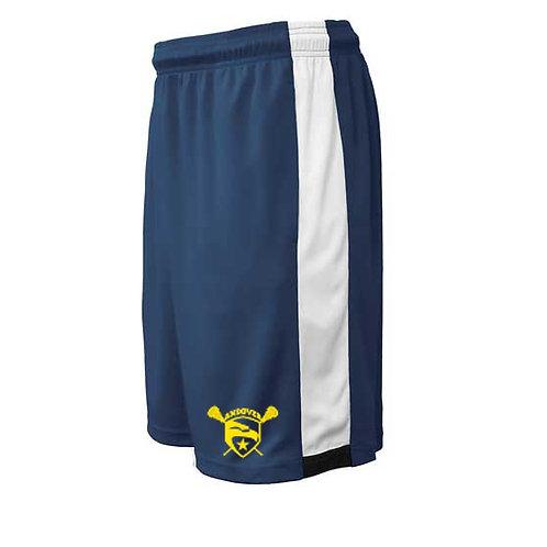 Navy Pennant Mens Shorts