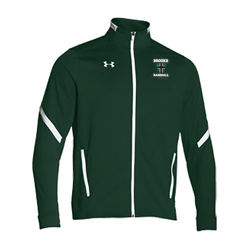 UAForest Green Warm Up Jacket Brooks Baseball