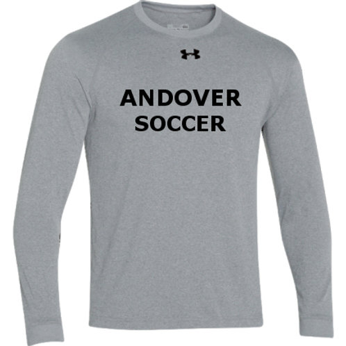 Gray Under Armour Performance Long Sleeve