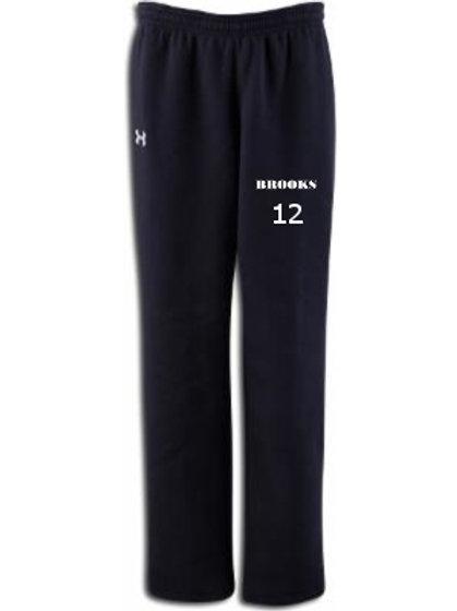 Black Under Armour Sweatpants /w number