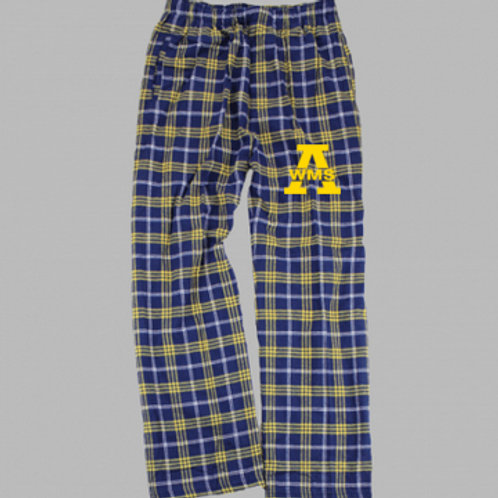 Navy/Gold Boxercraft PJ pants West Middle