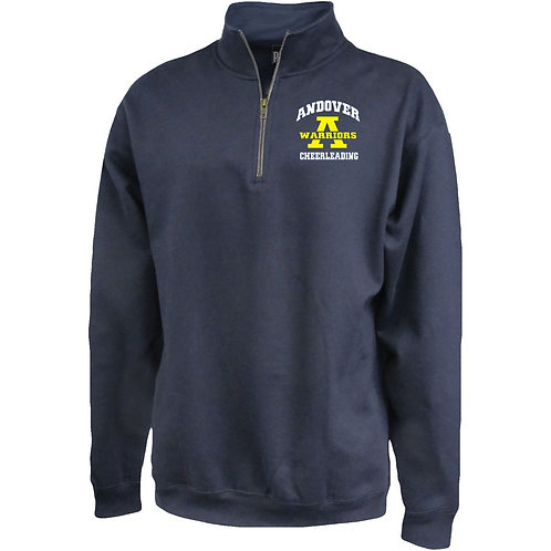 Navy Pennant Cheerleading 1/4 Zip AJFL