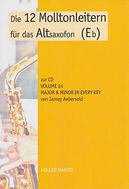 Altsaxofon Lehrbuch von Holger Mantei
