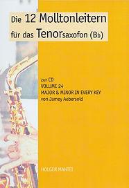 Tenorsaxofon Lehrbuch von Holger Mantei