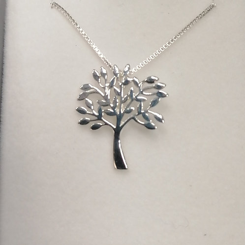 P694 TREE OF LIFE NECKLACE (E1021 Matching Earings)