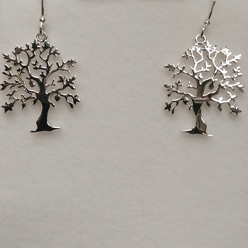 29661 TREE OF LIFE EARINGS (19853 Matching necklace)