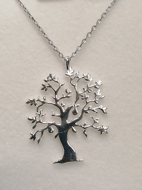 19853 TREE OF LIFE NECKLACE (29661 Matching earring)