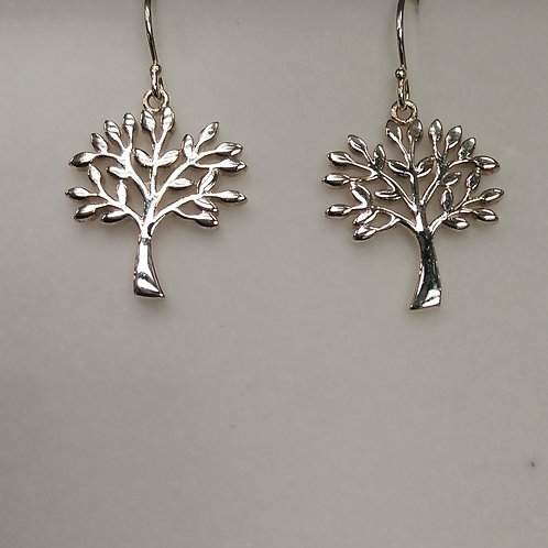 E1021 TREE OF LIFE EARRINGS           (P694 Matching Necklace)