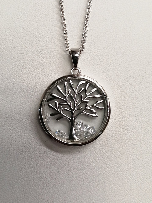 P4186 ASTRA (20mm) TREE OF LIFE NECKLACE